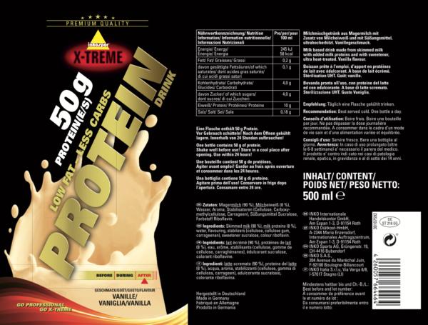 protein drink vanilija